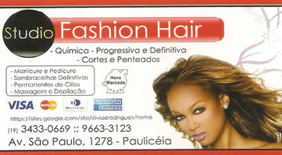 Studio Fashion Hair Piracicaba SP